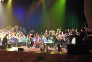 Voorstelling in Muziekcentrum 3 november